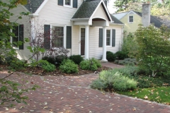CAPE COD MAKEOVER: Paver driveway, walk & plantings