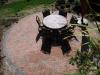 Circular dining area
